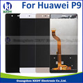 1pcs LCD Screen for Huawei P9 100% New High Quality Phone Accessories LCD Display+Touch Screen for P9 Smartphone