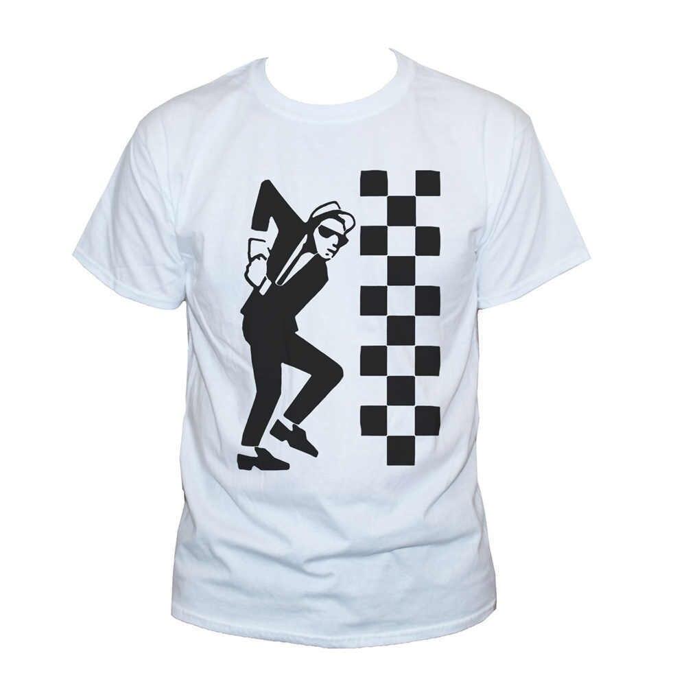New The Specials 2 Tone Ska Band Men/'s White T-Shirt Size S M L XL 2XL 3XL
