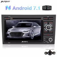 Pumpkin 2 Din 7 Android 7 1 Car DVD Player Quad Core FM Rds Radio Car