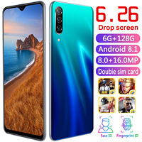 CHAOAI A50 Pro 6.26 Inch Water Drop Full Screen Global Version Smart Mobile Phone 6GB+128GB Android 8.1