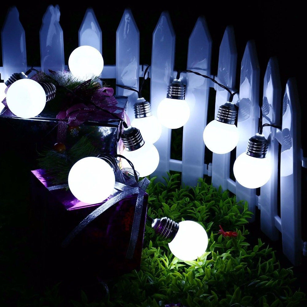 Garden Lights Kopen Kopen Goedkoop Solar Globe Led String Lights 6 M 20 Leds Ball