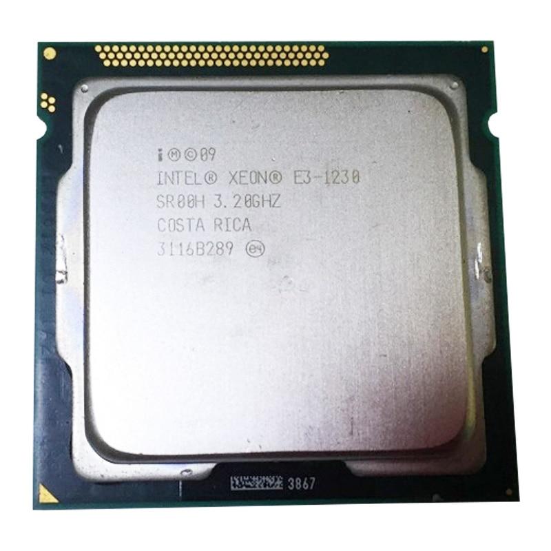 Intel Xeon E3 1230 3.2 GHz 8 MB 4 1333 MHz SR0PH LGA1155 bureau processeur d'unité centrale