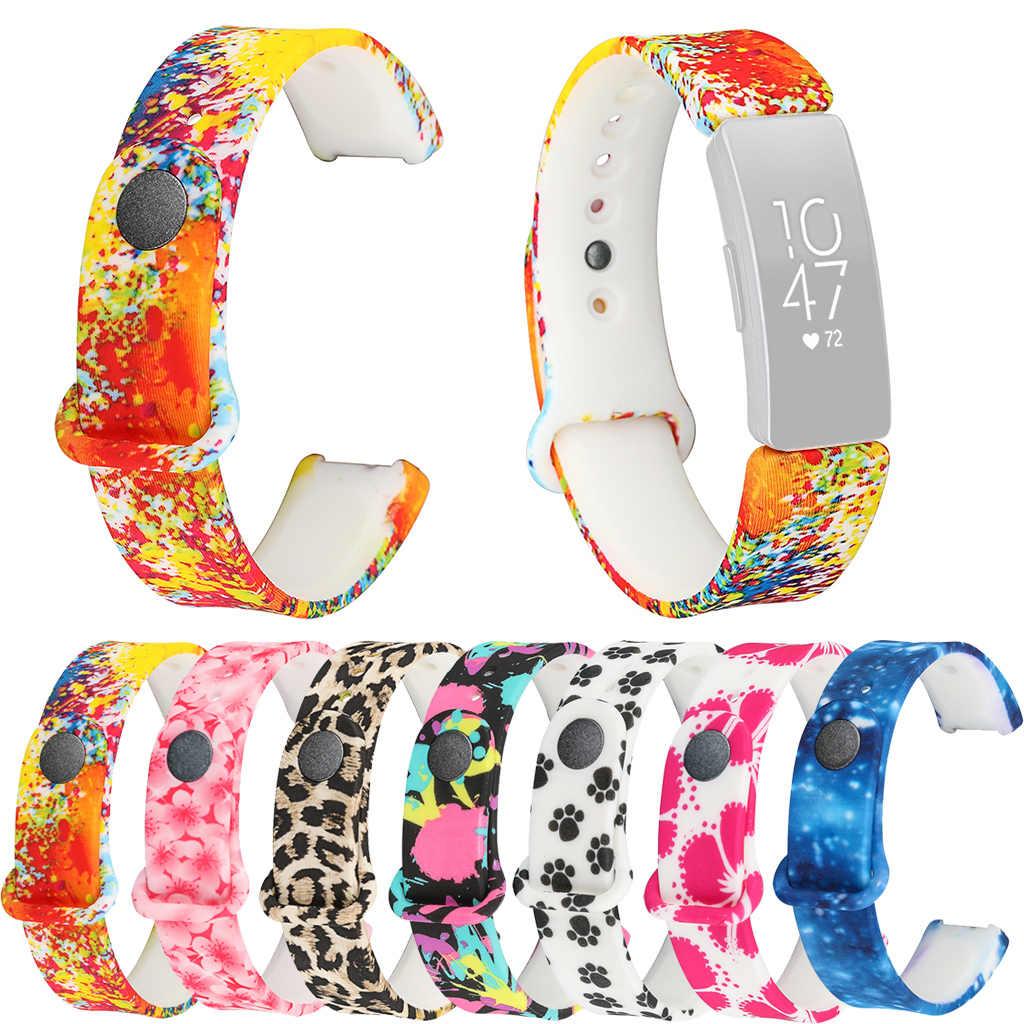 HIPERDEAL ファッションスモールソフトシリコーン交換 Watch Band Strap Fitbit 鼓舞/鼓舞時 May23