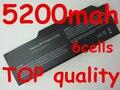 5200 mah Batería Del Ordenador Portátil PARA MEDION MD98110 MD98310 MD98470 MIM2070 MIM2270 MIM2280 MIM2300 MIM2240 PARA Zoostorm 8207D