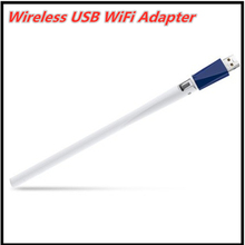 Wireless USB WiFi Adapter WLAN Network Card USB WiFi Antenna Work in Desktop