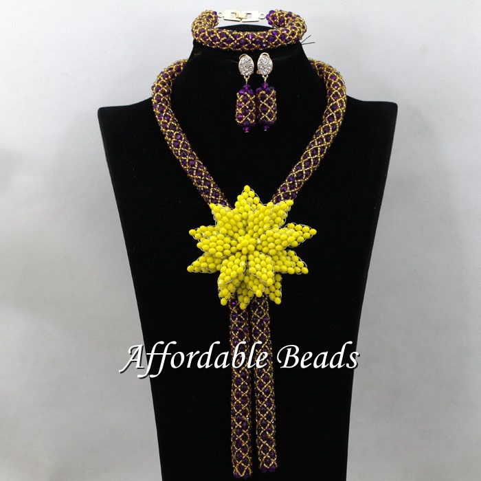 Vintage bridal beads jewelry set popular costume jewelry for Top fashion jewelry designers