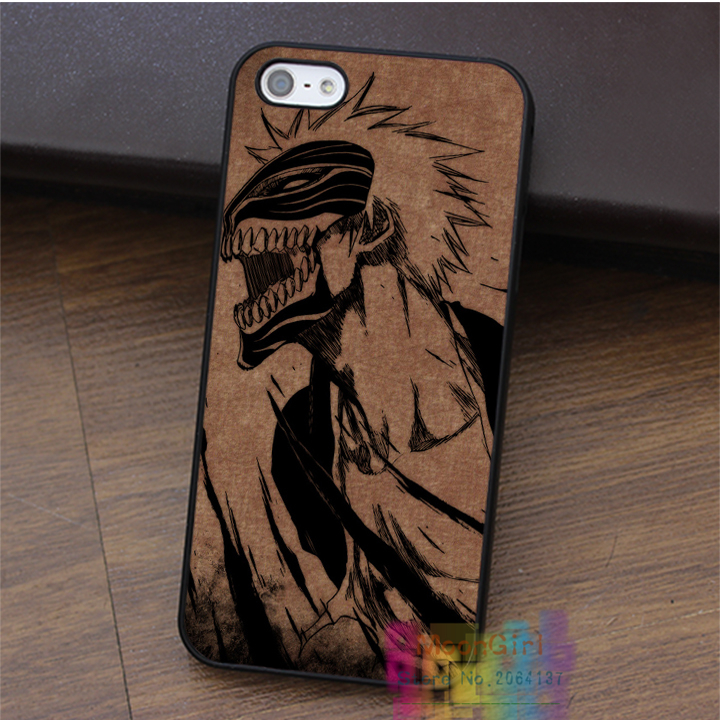 naruto bleach ichigo hollow mask69 fashion cell phone case for iphone 4 4s