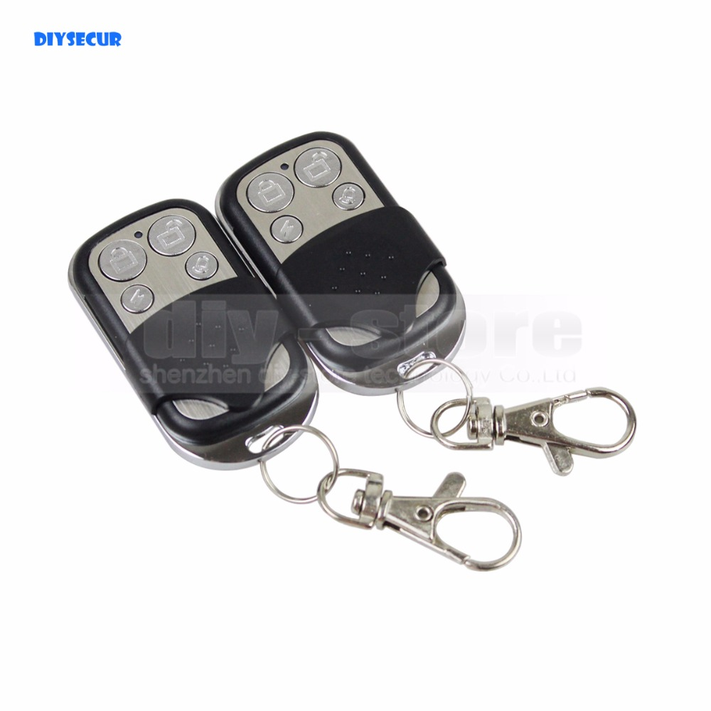 DIYSECUR K3 Wireless 433Mhz Keyfobs Remote Control for Our Related Home Alarm Home Security System free shipping 3 pieces lot wireless remote control controller keyfobs keychain 433mhz just for our alarm system