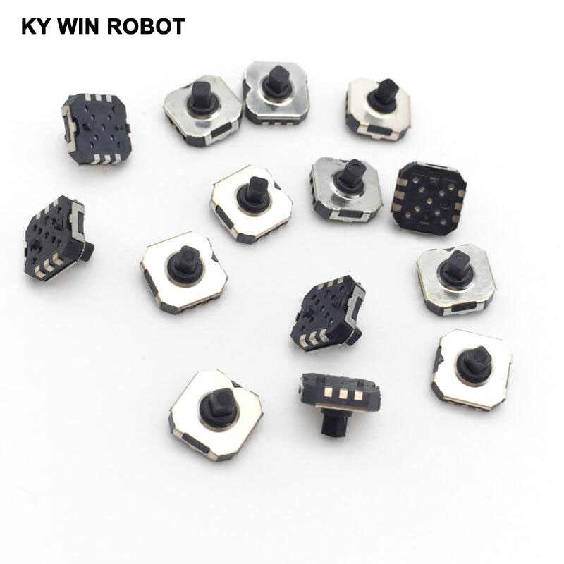10PCS/LOTS Japan ALPS SKRHABE010 5 way direction SMD tact switch Push button joystick in multi 7x7,7*7*5mm Handy Phone Digital c