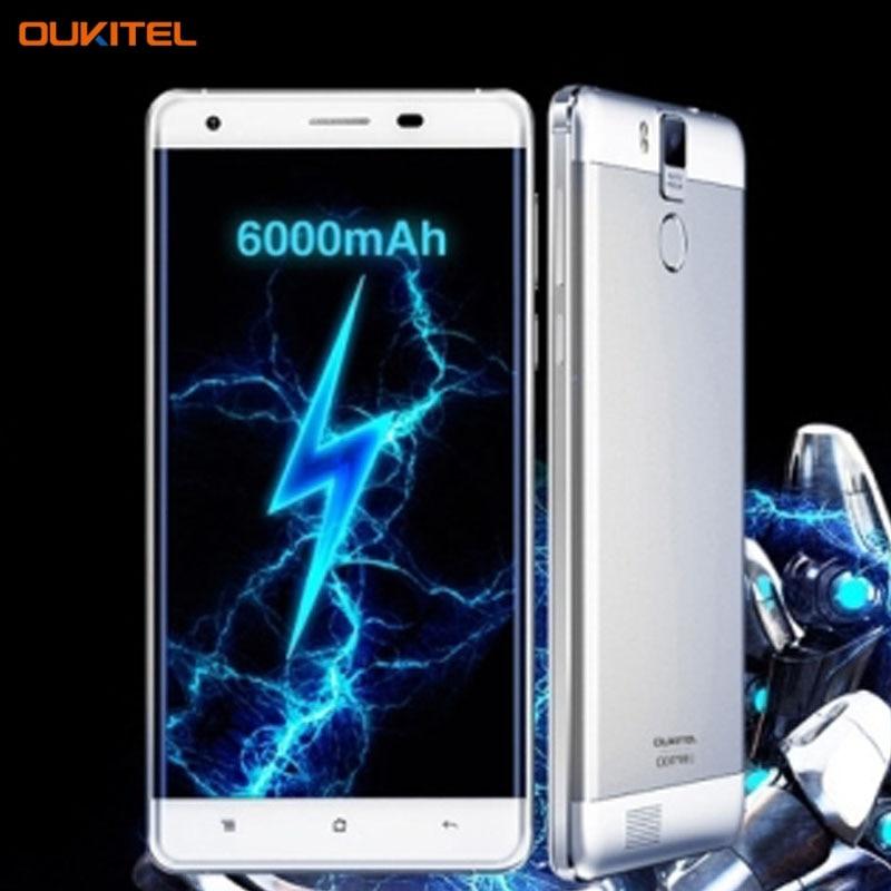 4G OUKITEL K6000 Pro 3GB 32GB 6000mAh 5 5inch Android 6 0 MTK6753 Octa Core 1