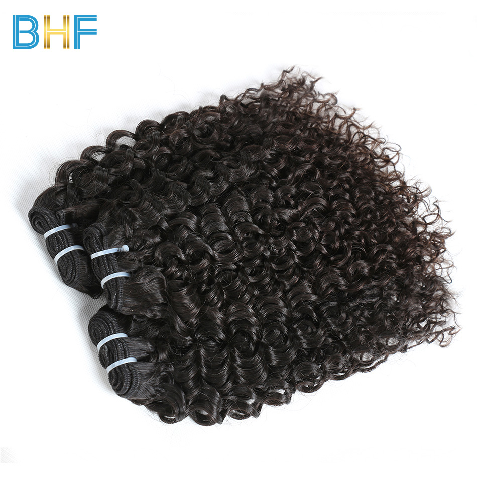 BHF Hair Chinese Water Wave 3 Bundles Virgin Hair Extensions Natural Color Unprocessed Human Hair Weave Ypung Donor Raw Hair