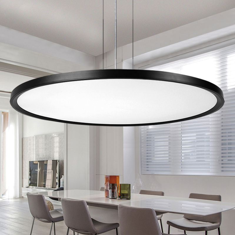 LED Nordic Round Iron Acrylic Designer LED Lamp LED Light Pendant Lights Pendant Lamp pendant light For Dinning Room Restaurant nordic wrought iron simple modern pendant lamp with led bulb dinning room light cafe lamp e27 110v 220v free shipping