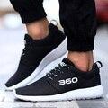 2017 Marca de Verão a Luz Dos Homens Sapatos Casuais Malha Sapatos Respirável Calçado Lace up Homens Sapatos Flats