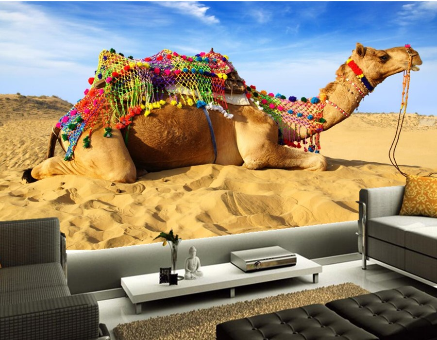 Custom large murals, Camels Sand Animals wallpapers photo 3d wallpapers,living room tv sofa background bedroom papel de paredeCustom large murals, Camels Sand Animals wallpapers photo 3d wallpapers,living room tv sofa background bedroom papel de parede