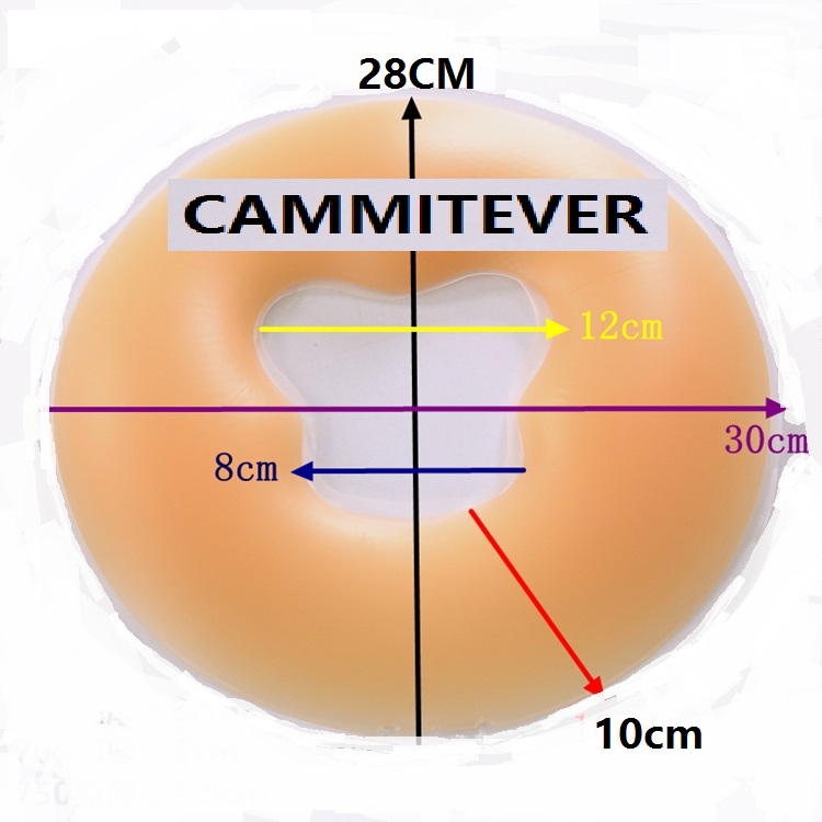 Image 2 - CAMMITEVER Silicone Pillow Face Massage Pad Pillow Comfortable Medical Beauty Bed Hole Tool