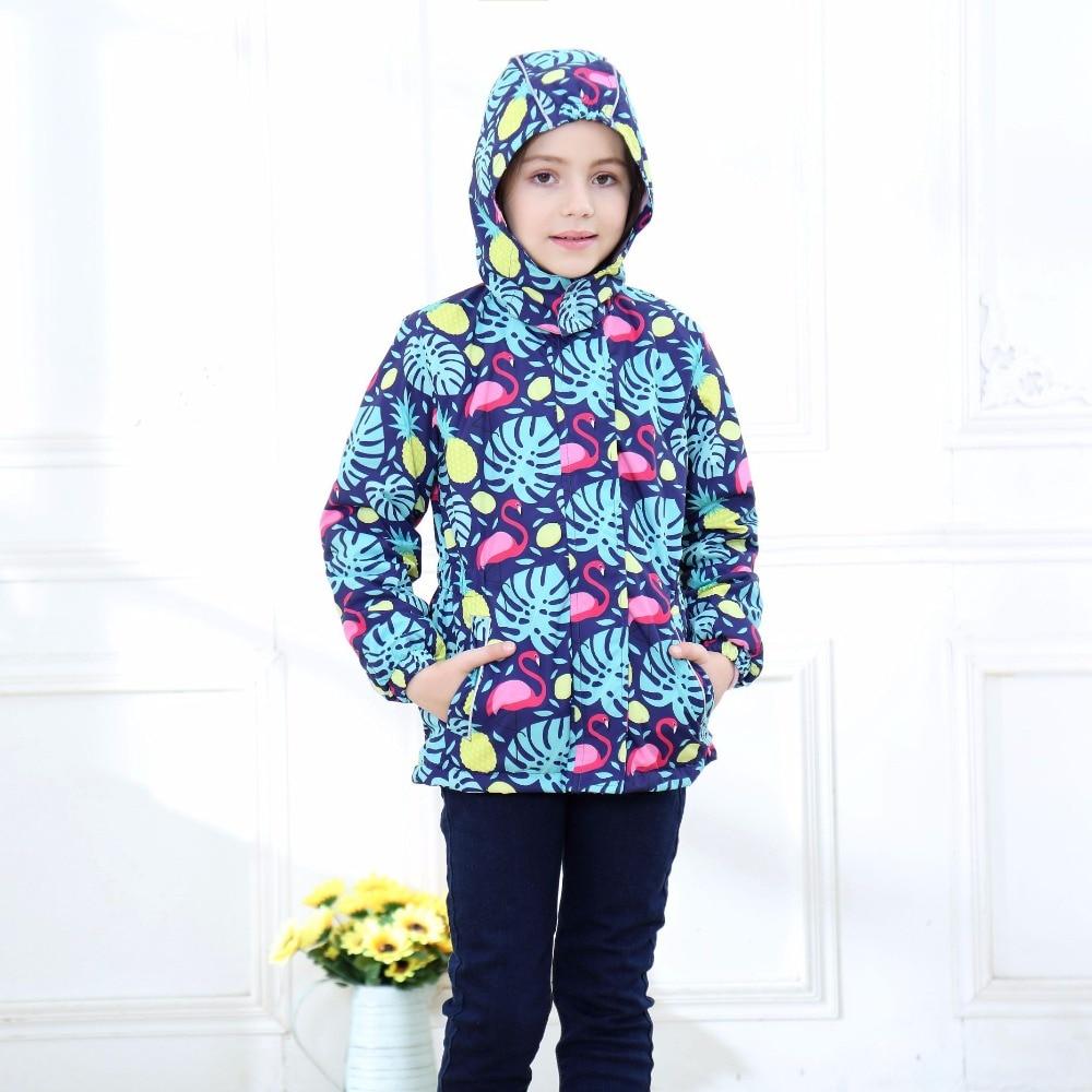8d73f5043 Waterproof Index 5000mm Warm Baby Girls Jackets Child Coat Polar ...