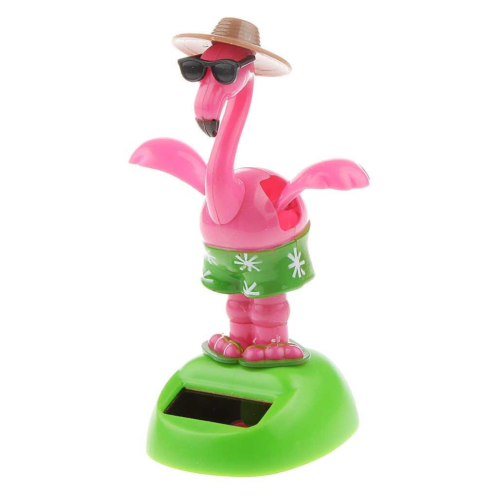 Новое поступление, детская пластиковая игрушка на солнечных батареях, крыло, кукла лебедь, украшение для автомобиля, домашний декор, детская игрушка для девочек, подарок на день рождения для детей