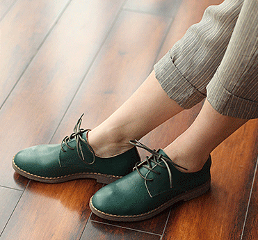 free shipping 2016 new leather pure handmade shoes women