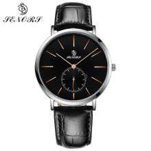 Men's Watches SENORS Fashion Sports Quartz-watch Leather Watches Women Clock Men Wristwatch Top Brand Luxury Watch for Men цена