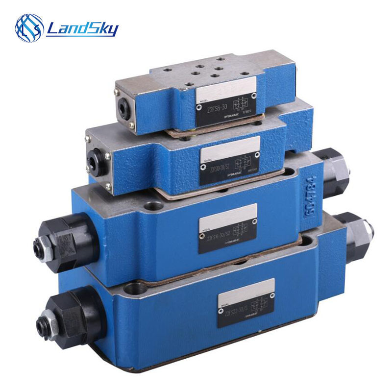 hydraulic directional control valve Hydraulic throttle valve Z2FS16 30 S2 uperimposed one way throttle valve in Valves Parts from Automobiles Motorcycles
