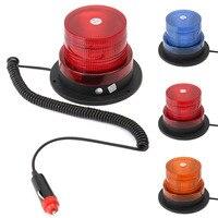 Brand New Blue Yellow Red 12V LED Car Truck Magnetic Warning Light Flash Beacon Strobe Emergency
