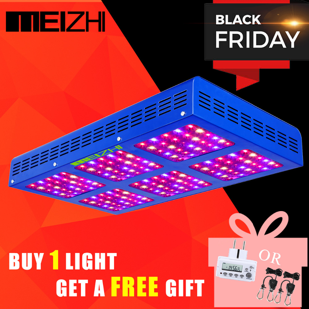 MEIZHI Reflector LED  900W Grow Light Hydroponics Systems cob full spectrum indoor plants lighting for Agricultur Greenhouse