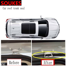 1.5M Rubber Car Sticker Trunk Bumper Sound Sealing Strip For Mercedes W211 W203 W204 W210 W205 W212 W220 AMG Jaguar XE XF XJ все цены