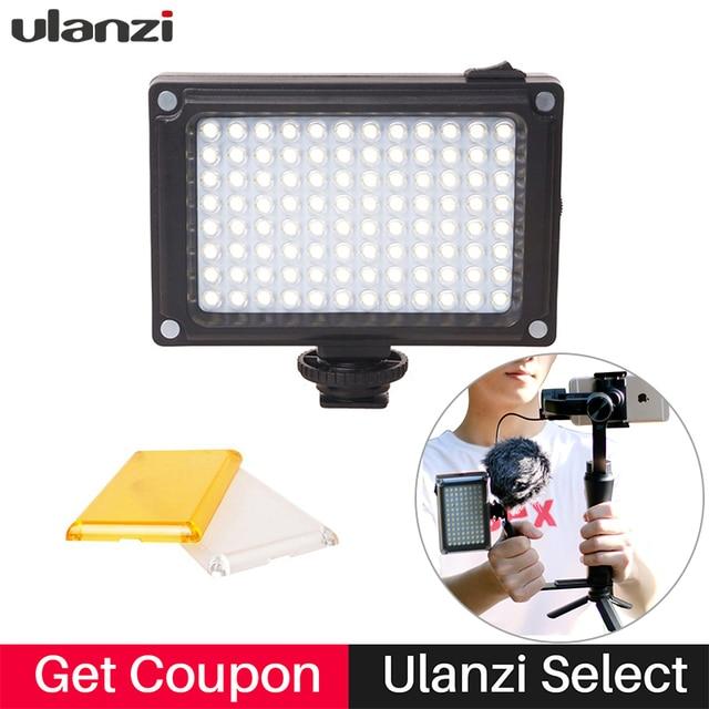 Ulanzi On Camera LED Video Light Hot Shoe Photo Studio fill light for Canon Nikon DJI Osmo Zhiyun Smooth Q 3 Youtube Live Stream