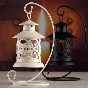 Light-Holder Lantern Candle-Stand Moroccan-Style Home-Decoration Iron Europe VBT05 T20
