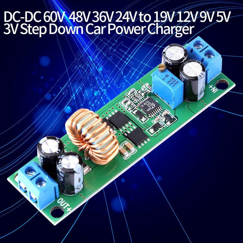 DC-DC Buck Converter Voltage Regulator Step Down Module 10A 24V~60V to 3V~19V UK