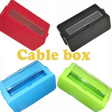 Cablebox Cable wire storage box With transparent cover power 27*12.5cm  free shipping