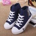 2016 Unisex Meninos Meninas Skate Sapatos Antiderrapantes Crianças Sneakers Crianças Sapatos de Desporto de Lona Jean Sapato Infantil sapato ao ar livre