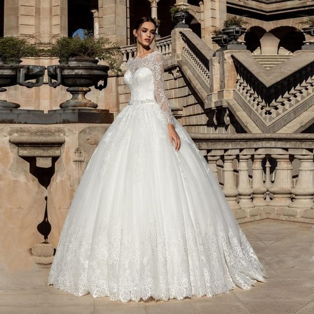 Vestido de noiva princesa Sexy Backless Ballkleid Brautkleid Boho ...