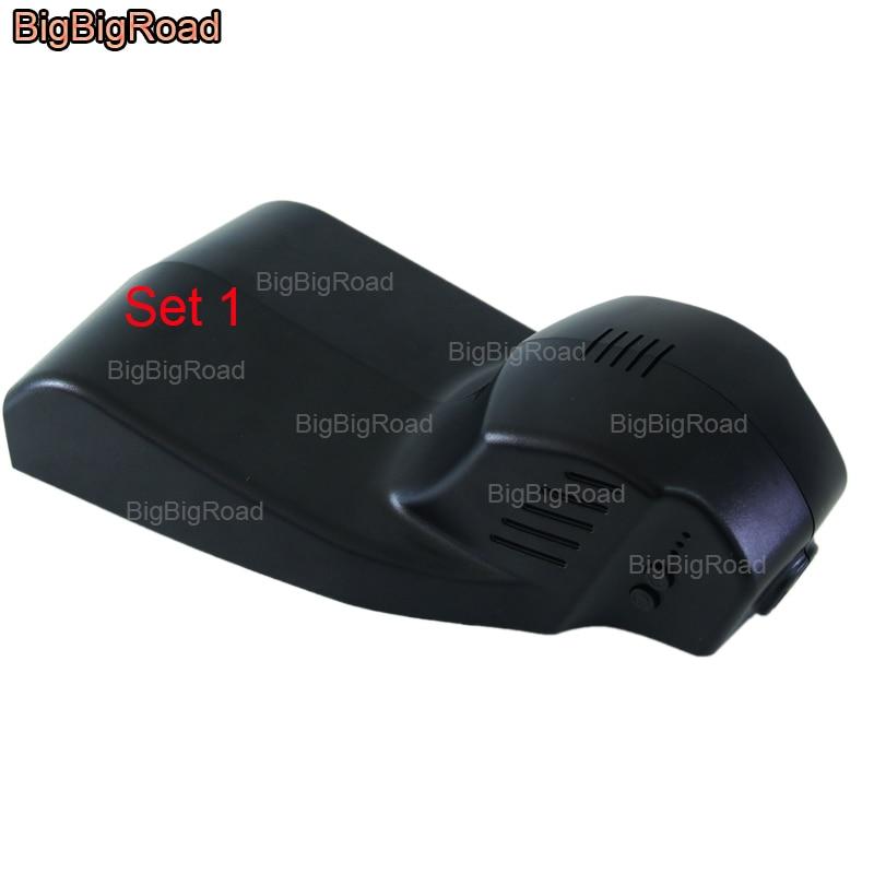 BigBigRoad Car wifi DVR video recorder For BMW 1 series 116i 118i 120i 135i f20 / M2 M3 M4 M5 M6 Dash Cam Camrea Car Black Box m5 44 29 bm bt silv2 black