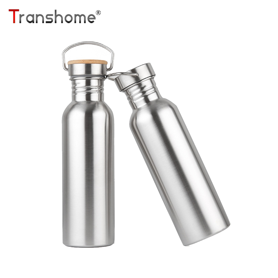 Transhome Bottle 500ml Stainless-Steel Biking Drinkware Bpa-Free Sports for Cycling