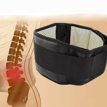 Joyida Adjustable Waist Tourmaline Self heating Magnetic Therapy Back Waist Support Belt Lumbar Brace Massage Band Health Care