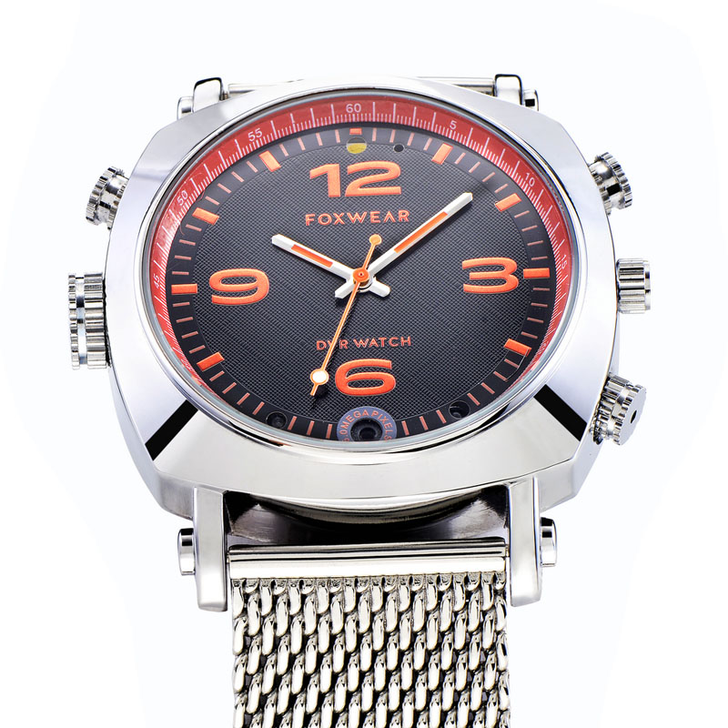 Toptronics Foxwear new arrival model Classic round smart watch TF25 with Camera video voice recording function best gift for man