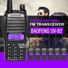 6 шт. Baofeng UV-82 Dual Band рация УКВ 136-174 мГц 400-520 мГц частота портативный КВ трансивер радиолюбителей