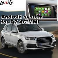 Android 4.4 5.1 okno nawigacji GPS dla 2017 Audi Q7 4G video interface MMI itp z lustrem link navi box
