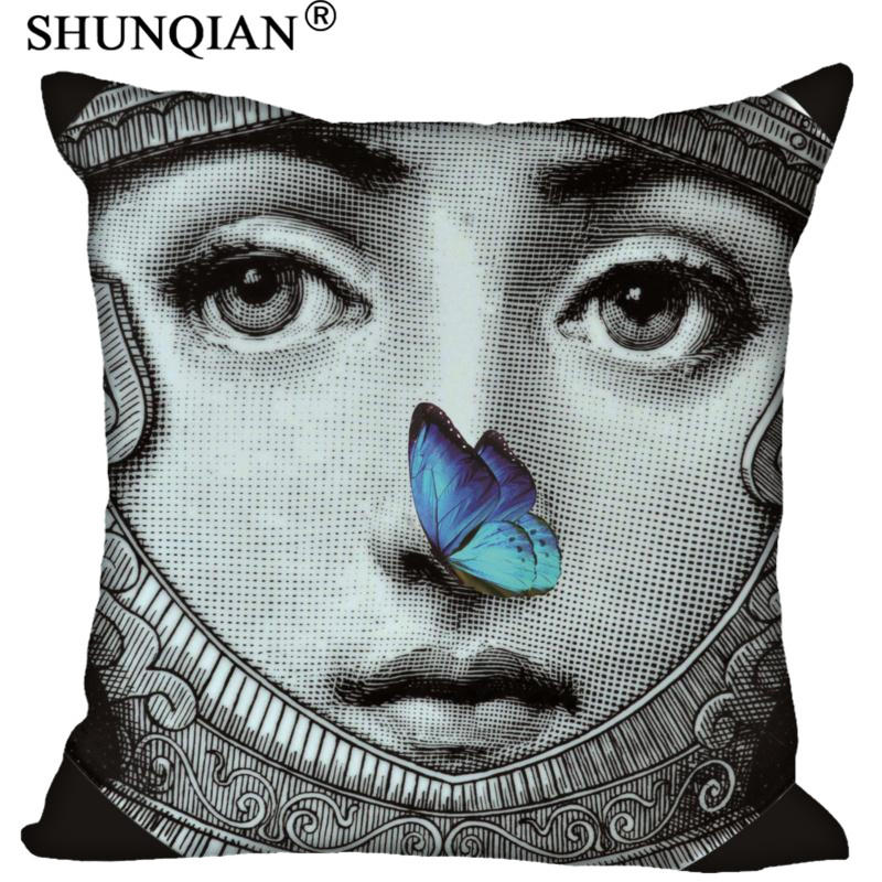 Hot Sale Custom Funny Piero Fornasetti Bestation Pillowcase 60X60cm Home  Pillow Cases 9-22T