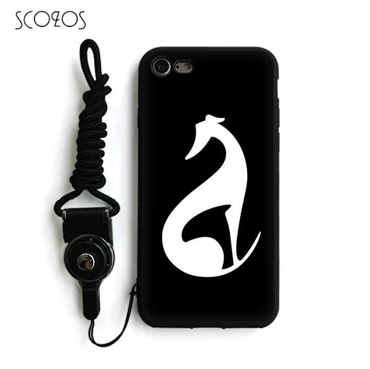 SCOZOS galgo greyhound dog 15 Silicone TPU Phone Case Cover For IPhone X 5 5S Se 6 6S 7 8 6 Plus 6S Plus 7 Plus 8 Plus #na81