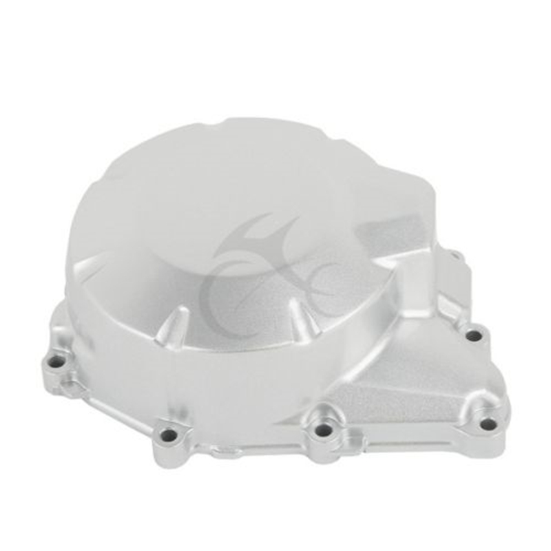 Left Stator Cover Crankcase Metal Color for YAMAHA FZ6 2004 2010 2005 06 07 08 Motorcycle