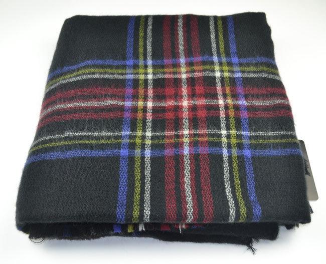 2016 Za Blanket Scarf Oversized Plaid Cashmere Feel font b Tartan b font Scarves For Women