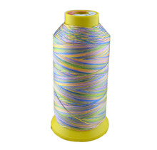 500D/3 high tenacity polyester sewing thread colors 5# embroidery ,Free shipping.