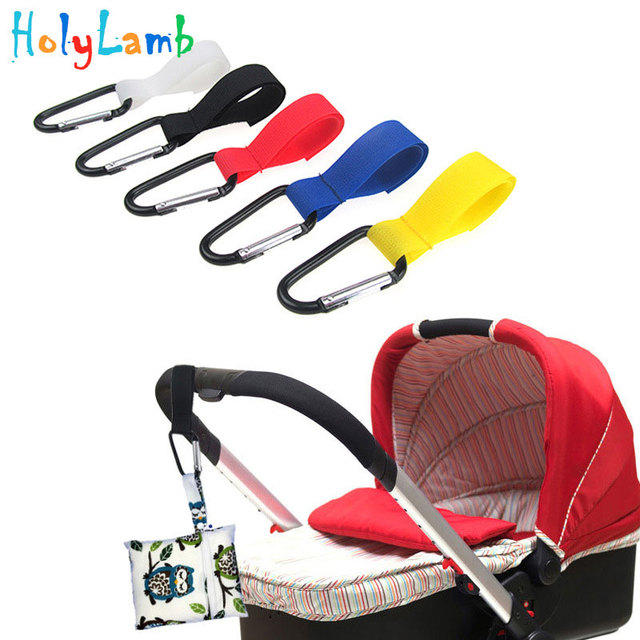 1 Pcs Pushchair Stroller Hook Shopping Bag Clip Baby Stroller Accessories Convenient Hooks Car Hanging Strap  Baby Carriages