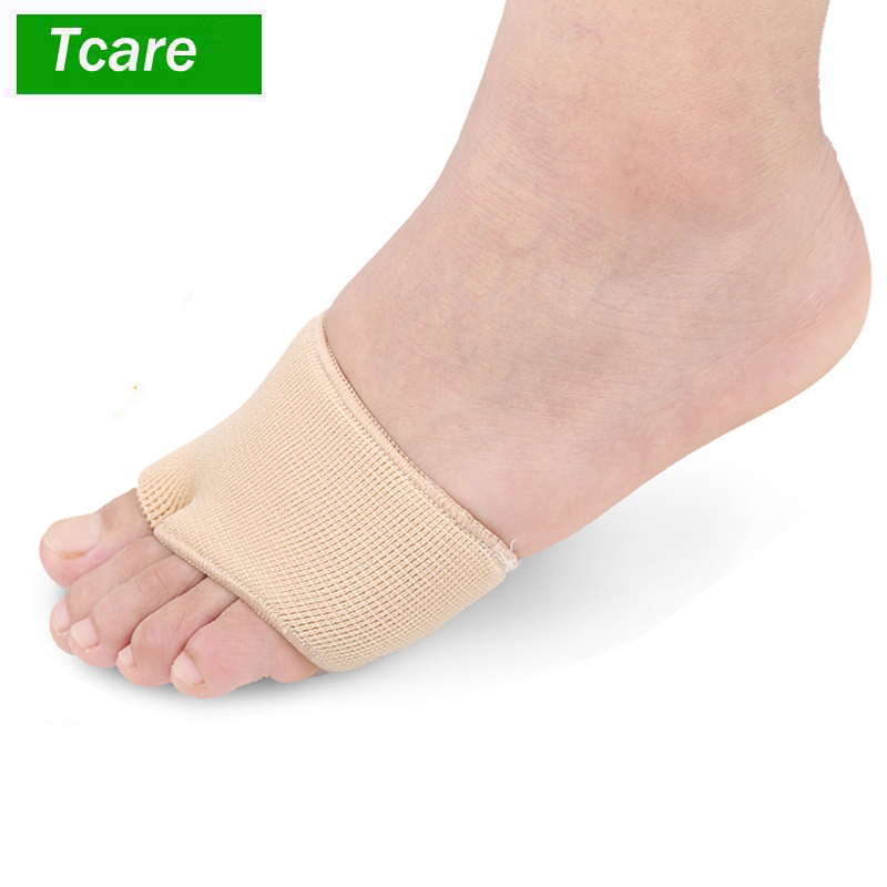 1Pair Fabric Fracture Toe Sleeve Metatarsal Sleeve With Sole Cushion Gel Pads For Metatarsalgia Fracture Anti Slip Pads Shoes