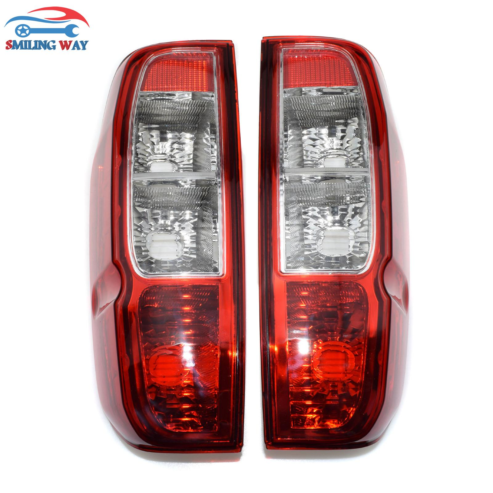 SMILING WAY Rear Tail light Taillight Housing Lamp Left Right For Nissan D40 Navara Frontier Pickup