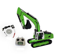 JDM 1/12 металлический RC экскаватор/дистанционное управление гидравлического экскаватора 106 г V2 версия Рождество ребенок мальчик на день рожд
