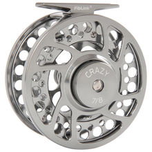 Fiblink Fly Fishing Reels with Large Arbor 2+1 BB, CNC machined Aluminum Alloy Body and Spool in Fly Reel Sizes 3/4, 5/6, 7/8