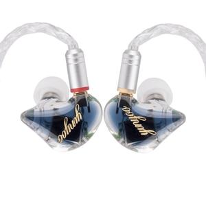 Image 3 - Yinyoo H3 and H5 3BA/5BA Custom In ear Earphones Balanced Armature HiFi Bass Earbuds DJ Earbud Detachable MMCX Cable